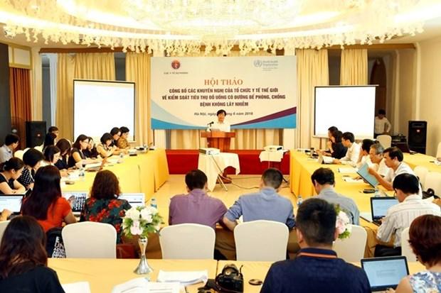El consumo de azucar en Vietnam duplica el maximo recomendado hinh anh 1