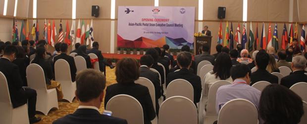 Consejo Ejecutivo de la Union Postal de Asia y Pacifico se reune en Vietnam hinh anh 1