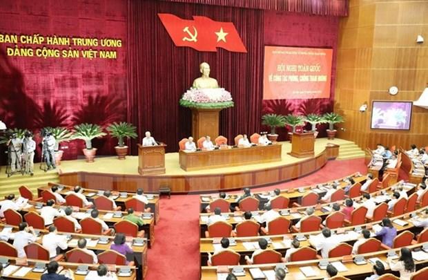 Inauguran en Hanoi conferencia nacional sobre lucha contra la corrupcion hinh anh 1