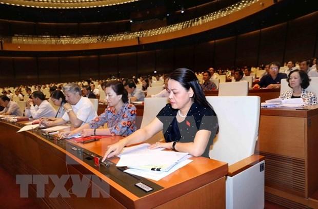 Parlamento de Vietnam aprueba programa de elaboracion de leyes y ordenanzas de 2019 hinh anh 1