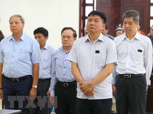 Confirman sentencia contra Dinh La Thang en caso de OceanBank hinh anh 1