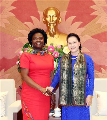 Titular parlamentaria de Vietnam recibe a vicepresidenta del Banco Mundial en Asia-Pacifico hinh anh 1