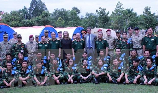 ONU selecciona Vietnam como sitio de entrenamiento para fuerzas de paz hinh anh 1