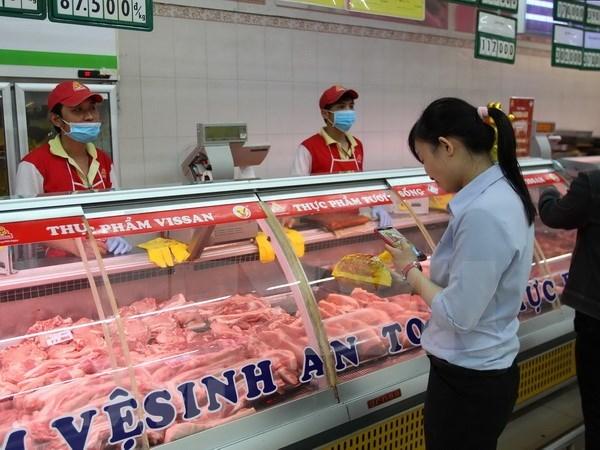 Vietnam exporta el primer lote de carne fresca al mercado extranjero hinh anh 1