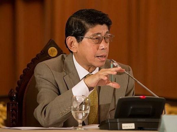 Viceprimer ministro tailandes revela fecha de elecciones generales hinh anh 1