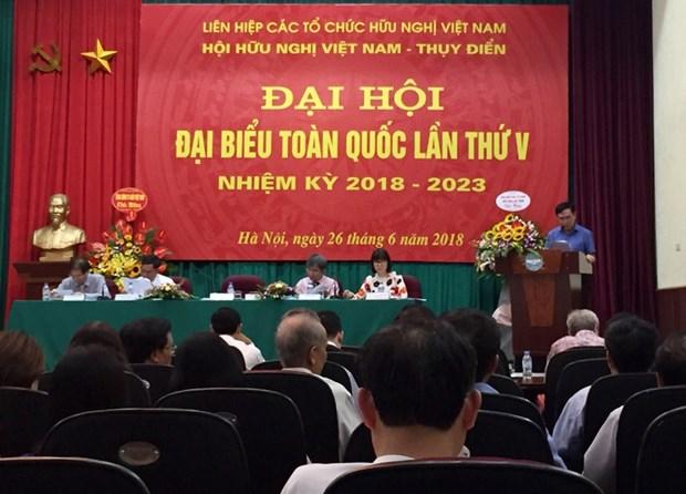 Asociacion de Amistad Vietnam-Suecia fijas acciones para impulsar vinculos entre los dos paises hinh anh 1