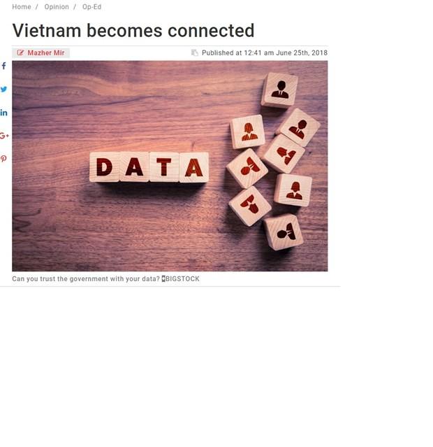 Ley de Ciberseguridad de Vietnam ayudara a estabilizar el crecimiento nacional, sostiene asesor de Morgan Stanley hinh anh 1
