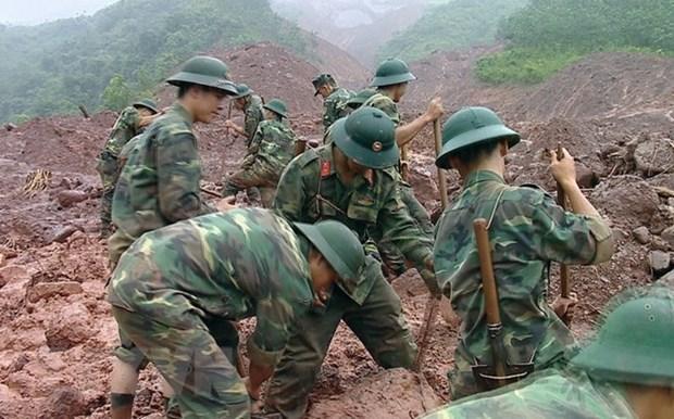 Inundaciones y deslizamientos de tierra dejan a 22 muertos en provincias nortenas de Vietnam hinh anh 1