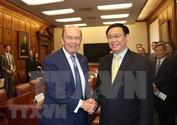 Estados Unidos y Vietnam fortalecen cooperacion economica hinh anh 1