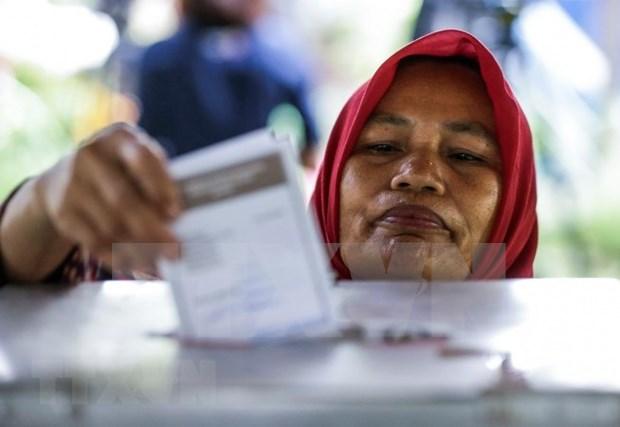 Indonesios convocados hoy a las urnas para comicios regionales hinh anh 1