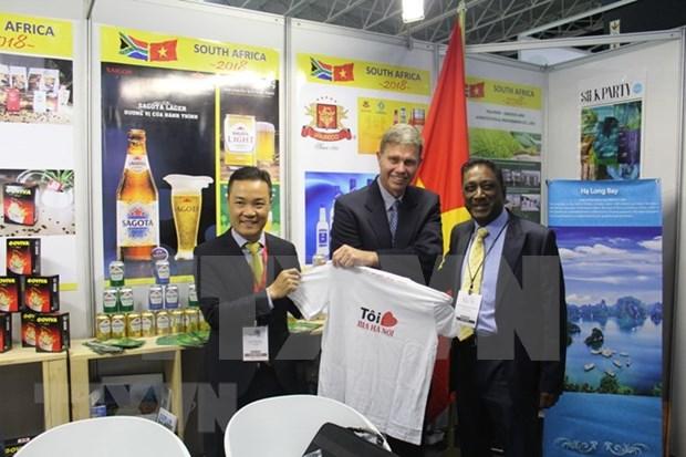 Vietnam y Sudafrica aspiran a intercambio comercial de mil 500 millones de dolares para 2020 hinh anh 1