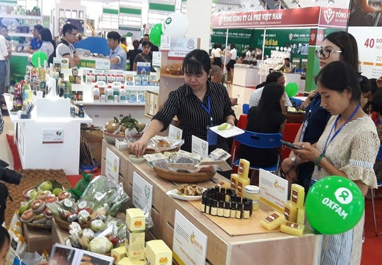 Inauguran Feria Internacional de Agricultura en ciudad vietnamita de Da Nang hinh anh 1
