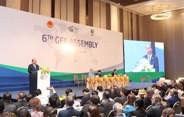 Concluye en Vietnam sexta Asamblea del Fondo Global para el Medio Ambiente hinh anh 1