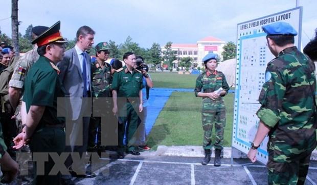 Seleccion de Vietnam para el entrenamiento de fuerzas de paz demuestra valoracion de la ONU hinh anh 1