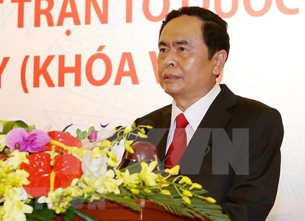 Felicita presidente del Frente de la Patria a la comunidad de budismo vietnamita Hoa Hao hinh anh 1