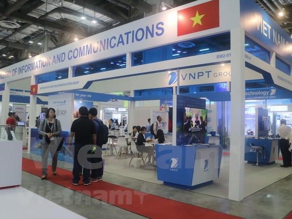 Presentan productos digitales vietnamitas en CommunicAsia hinh anh 1