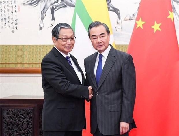 China y Myanmar acuerdan mantener la estabilidad en zona fronteriza hinh anh 1