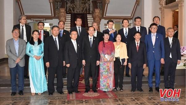 Prefectura japonesa apoyara a Ciudad Ho Chi Minh a enfrentar inundaciones hinh anh 1