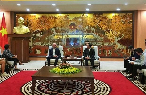 Hanoi recibe asistencia en adaptacion al cambio climatico hinh anh 1