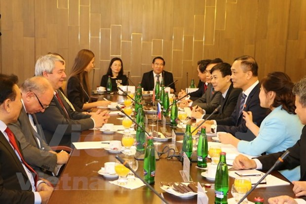 Vietnam y Republica Checa fomentan cooperacion legislativa hinh anh 1