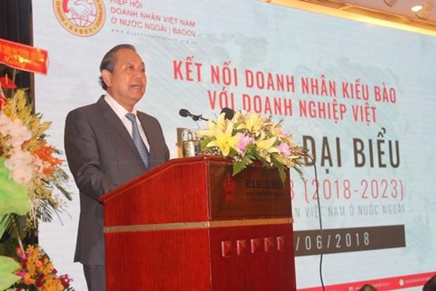 Asociacion de Empresarios Vietnamitas en ultramar celebra su tercer congreso hinh anh 1