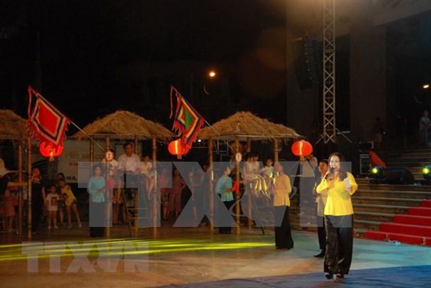 Saludan reconocimiento a arte vietnamita Bai Choi como Patrimonio Intangible de la Humanidad hinh anh 1