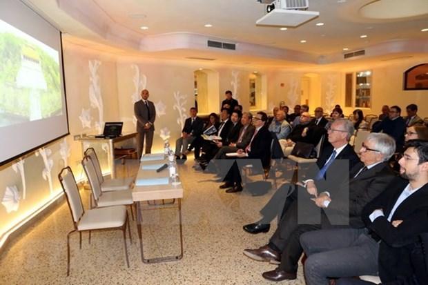 Impulsan cooperacion economica entre localidades vietnamitas e italianas hinh anh 1