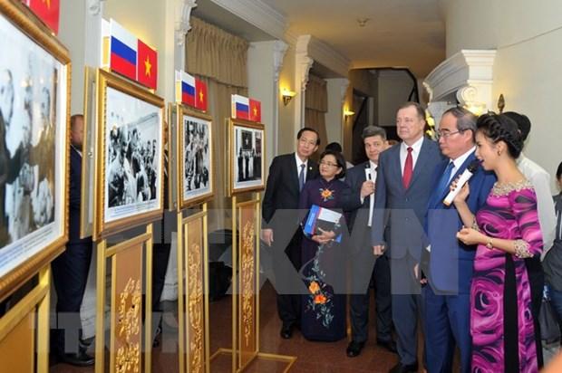 Conmemoran el aniversario 95 de primera visita del Presidente Ho Chi Minh a Rusia hinh anh 1