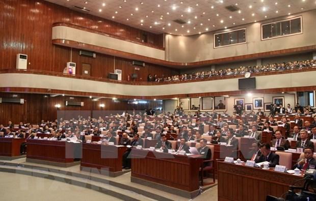 Asamblea Nacional de Laos adopta cinco nuevas leyes hinh anh 1