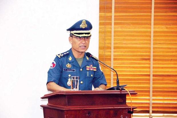 Camboya reajusta personal militar de alto nivel hinh anh 1