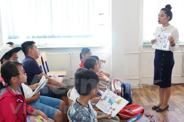 Abren curso de idioma vietnamita en Republica Checa hinh anh 1