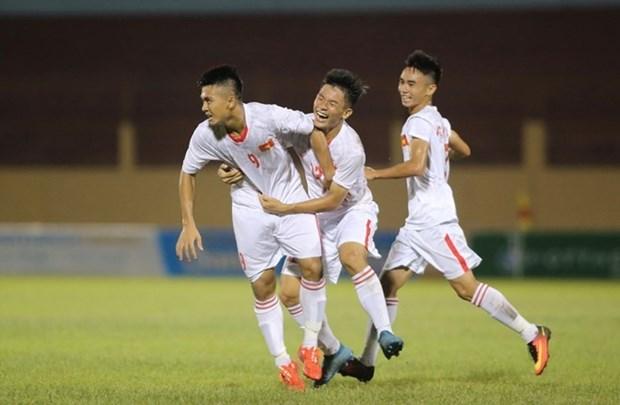 Vietnam empata con Tailandia en campeonato de futbol regional hinh anh 1