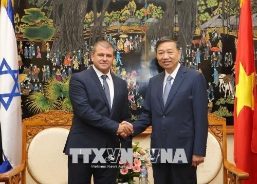 Vietnam e Israel robustecen cooperacion en lucha contra crimen hinh anh 1