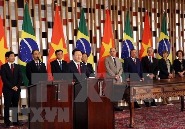 Destaca vicepremier de Vietnam importancia de relaciones con Brasil hinh anh 1