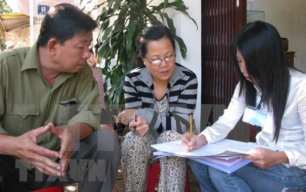 Comenzara Censo de Poblacion y Viviendas de Vietnam en abril de 2019 hinh anh 1