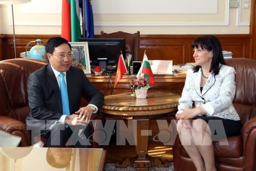Vicepremier de Vietnam continua agenda en Bulgaria hinh anh 1