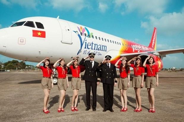 Vende Vietjet Air a partir de hoy 700 mil boletos promocionales hinh anh 1