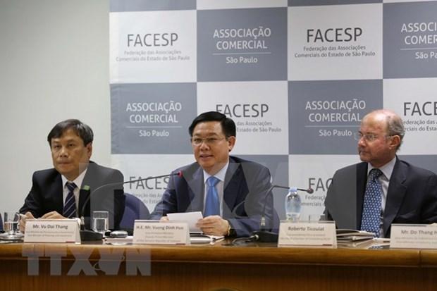 Vienam y Brasil promueven nexos comerciales hinh anh 1