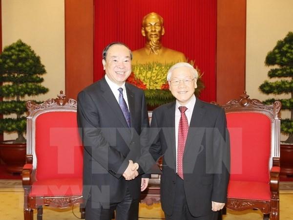 Vietnam y China fomentan cooperacion partidista hinh anh 1
