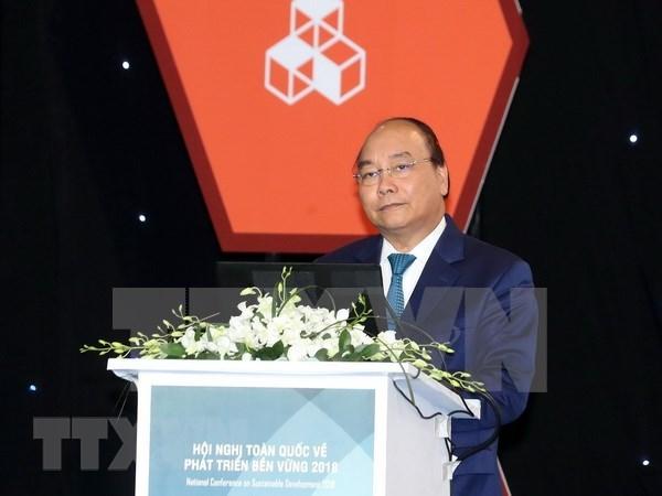 Desarrollo sostenible es responsabilidad de toda la sociedad, afirma premier vietnamita hinh anh 1