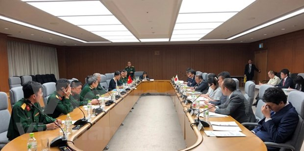 Vietnam y Japon efectuan sexto dialogo sobre politica de defensa hinh anh 1