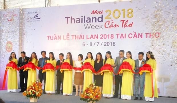 Comienza Semana de Tailandia en ciudad survietnamita de Can Tho hinh anh 1