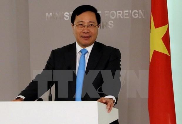 Vicepremier de Vietnam realiza visita a Rumania hinh anh 1
