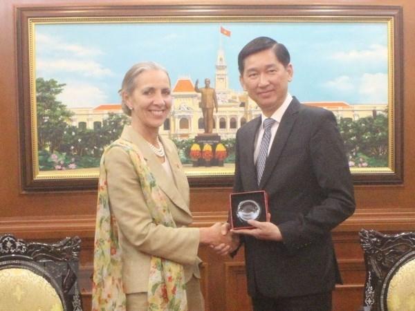 Reino Unido aspira a aumentar la inversion en Ciudad Ho Chi Minh hinh anh 1