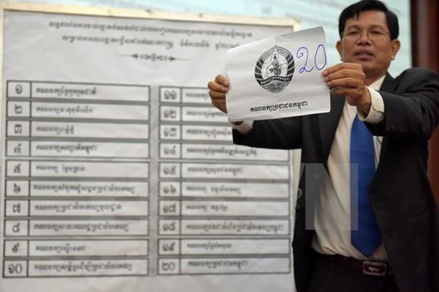 Inicia en Camboya campana electoral hinh anh 1