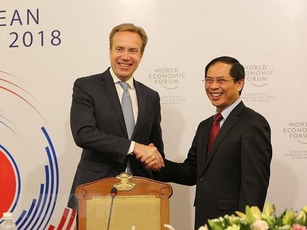 Vietnam acelera preparativos para Foro Economico Mundial sobre la ASEAN hinh anh 1