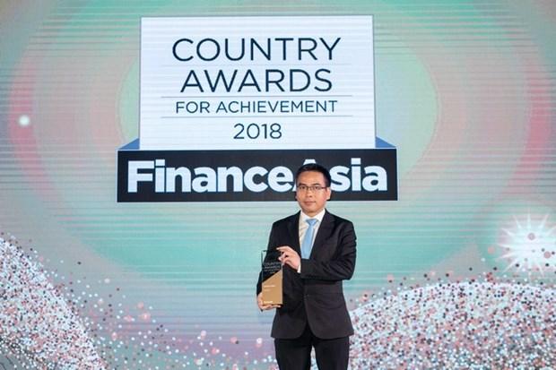 Vietcombank considerado mejor banco de Vietnam por revista FinanceAsia hinh anh 1