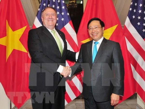 Vietnam y Estados Unidos acuerdan consolidar asociacion integral bilateral hinh anh 1