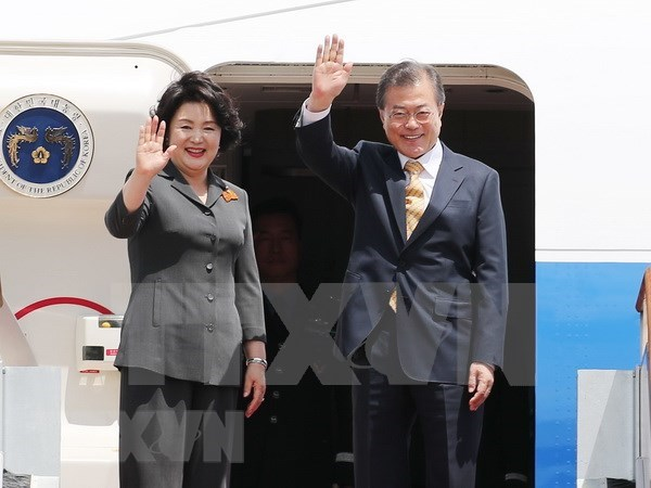Sudcorea fortalece cooperacion con la India y ASEAN hinh anh 1