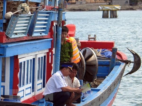 Provincia vietnamita de Kien Giang fortalece medidas contra la pesca ilegal hinh anh 1